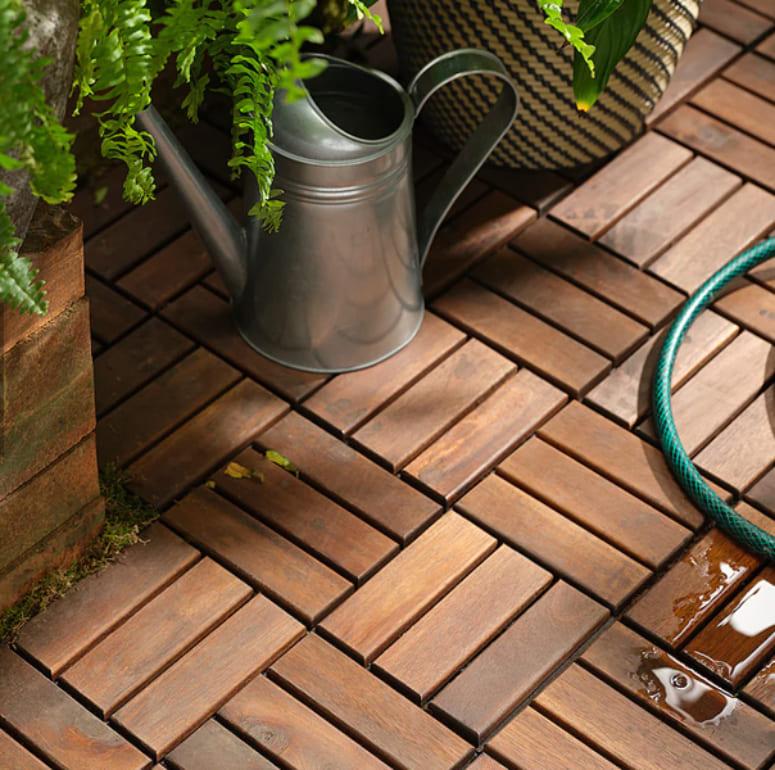 Sàn gỗ ban công Monrovia cho không gian đậm chất cổ điển